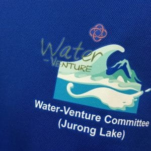 Water-Venture Committee - Royal Blue CRR3640 Long-sleeves dri-fit t-shirt (Left Chest View)