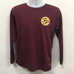 Fusion Percussion - Maroon CRR3640 T-Shirt (Front View)