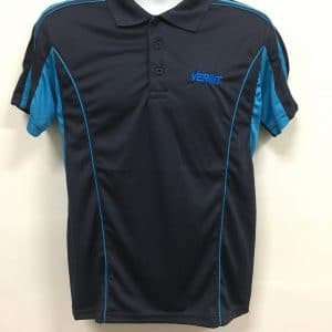 Verint Systems - QD33 Polo T-Shirt (Front View)